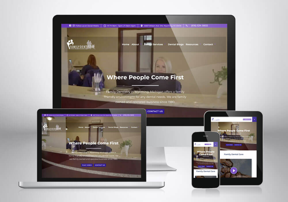 Dental Web Design Grand Rapids Familydentistry