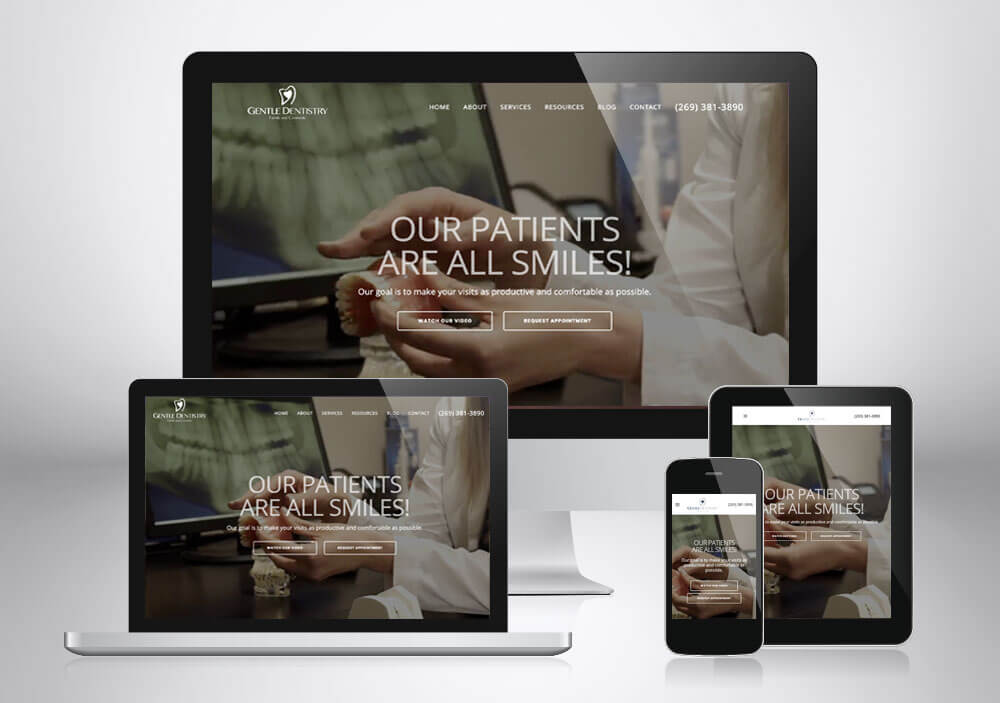 Dental Web Design Grand Rapids Gentle