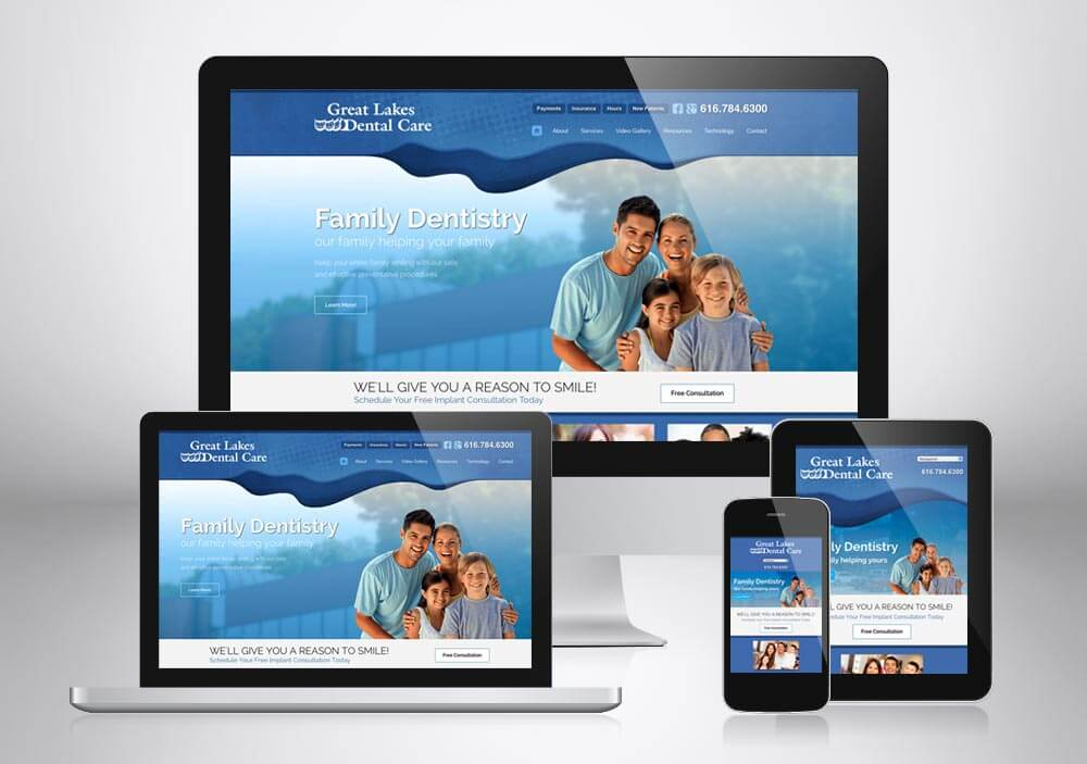 Dental Web Design Grand Rapids Gld