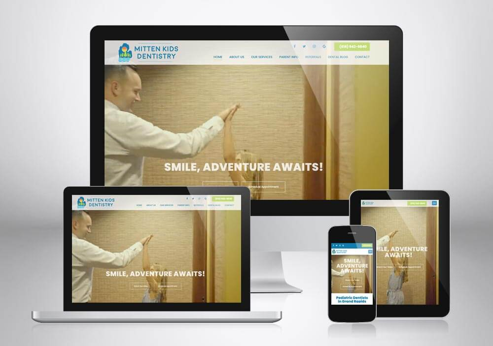Dental Web Design Grand Rapids Mittenkids