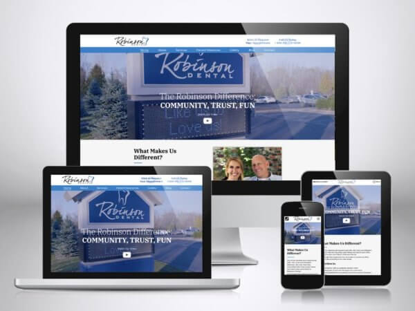 Web Design For Dentists Grand Rapids Mi